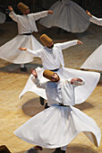 Whirling dervishes, Konya. Central Anatolia, Turkey