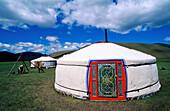 Yurt. Orkhon Valley. Ovorkhangai. Mongolia