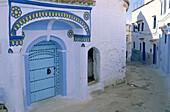 Chefchaouen (Chaouen) town. Rif area. Morocco.