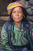 Woman from Tamang ethnic group. Nuwakot province. Nepal.
