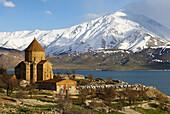 Turkey. East Anatolia Province. Lake Van. Akhtamar island. Armenian Church. Kurdistan.