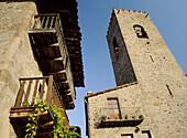 Santa Pau. La Garrotxa. Girona province. Catalonia. Spain