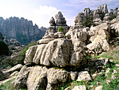 Erosion working on Jurassic limestones. Torcal de Antequera. Málaga province. Spain
