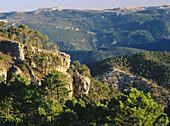 Alcaraz Mountain Range in Albacete province. Castilla-La Mancha, Spain