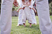 s, Family, First moves, First steps, Grass, Help, Helping, Horizontal, Human, Infant, Infants, Kid, K