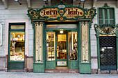 Forn des Teatre famous bakery. Palma de Mallorca. Majorca, Balearic Islands. Spain