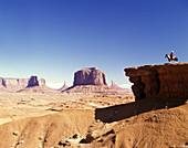 Scenic john ford s point, Monument valley navajo tribal park, Utah / arizona, USA.