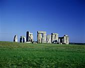 Stonehenge ruins, Salisbury plain, Wiltshire england, UK