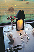 Dining car. American Orient Express. Canada