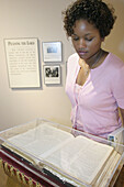 Exhibits. Black History, Civil Rights Institute. Birmingham, Alabama. USA.