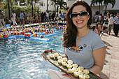 Florida, Miami Beach, Collins Avenue, South Seas Hotel, Playboy s Super Bowl Bikini Bash.