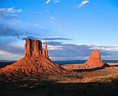 The Mittens. Monument Valley. Arizona-Utah. USA