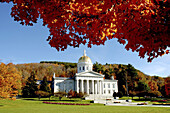 State Capitol building, Montpelier. Vermont, USA