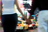 Couple. Times Square. New York City. USA