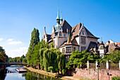 Lycee International, river Ill, Strasbourg, Alsace, France