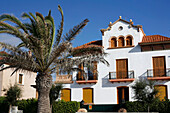 19th Century Estate, Sitges, Costa de Garraf, Catalonia, Spain