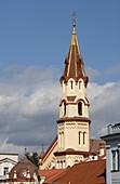 Steeple of St Nicolas orthodox church, Lithuania, Vilnius