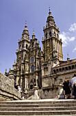 The Cathedral. Santiago de Compostela. La Coruña province. Spain