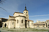 Romanesque Church of San Millán (13th cent). Segovia (city added to Unesco s World Heritage List in 1985). Spain