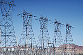 High Voltage Power Lines, Electrical sub station