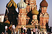 St. Basil s Cathedral. Red Square. Moscow. Russia