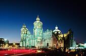 Plaza de la Constitución (the Zócalo). Mexico City. Mexico