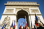 Arc de Trionphe. Paris. France