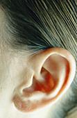 Woman s ear