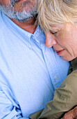 r, Contemporary, Couple, Couples, Daytime, Embrace, Embracing, Exterior, Female, Fondness, Gray-haire