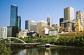 Yarra River and downtown Melbourne (world s most liveable city, 2004). Victoria, Australia