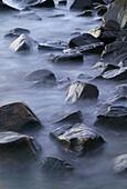 Stones by waters edge. Kattegatt, Sweden