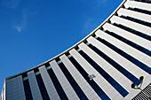Architecture, Blue, Blue sky, Building, Buildings, Color, Colour, Concept, Concepts, Condominium, Condominiums, Daytime, Exterior, Facade, Façade, Facades, Façades, House, Houses, Low angle view, Office, Offices, Outdoor, Outdoors, Outside, Skies, Sky, S