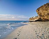 Beach at Jandía. Fuerteventura. Canary Islands. Spain