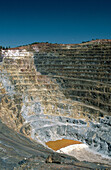 Corta Atalaya, Riotinto mines, Huelva province, Spain