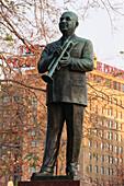 Statue of William C. Handy. Memphis. Tennessee. USA