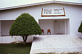 Church facade in Grand Cayman, B.W.I