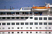 Color, Colour, Contemporary, Cruise, Cruises, Daytime, Deck, Decks, Detail, Details, Exterior, Holiday, Holidays, Horizontal, Outdoor, Outdoors, Outside, Ship, Ships, Summer, Summertime, Transport, Transportation, Transports, Travel, Traveling, Travellin