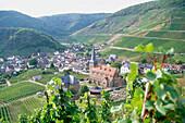 Wine village Mayschoss, Ahr, Rhineland-Palatinate, Germany