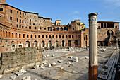 Trajan's Forum with Trajan's Column, Forum Traiano, Rome, Italy