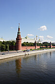 Moskva river and the Moscow Kremlin, Moscow, Russia