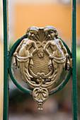 Ornamental Door Knocker, Venice, Veneto, Italy
