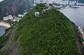Cable car, gondola to the top of the Sugarloaf Mountain, Rio de Janeiro, Brazil, South America