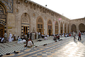 Courtyard of the Aleppo Great Mosque, Aleppo, Syria, Asia