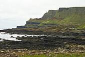 Außenaufnahme, Giant's Causeway, County Antrim, Ulster, Nordirland, Europa