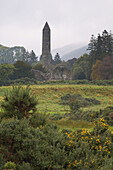Außenaufnahme, Glendalough, Wicklow Mountains, County Wicklow, Irland, Europa