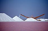 Salzkristallationsanlage Akzo Nobel, Niederlaendische Antillen, Bonaire, Karibik, Karibisches Meer