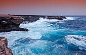 Storm on the coast, Netherlands Antilles, Bonaire, Caribbean Sea, Washington Slagbaai National Park, Supladó