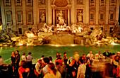 Trevi Fountain, Fontana di Trevi, Italy, Rom, Piazza di Trevi