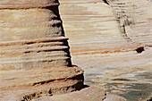 Rock erosion. San José Island. Gulf of California. Mexico.