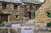 Village renovated as Youth School. Umbralejo. Sierra de Ayllon. Guadalajara province. Castilla-La Mancha. Spain